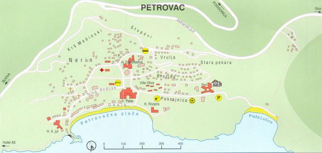 mapa petrovac crna gora Kontakt | Baka Zlata – Sobe i apartmani – Petrovac na moru – Crna Gora mapa petrovac crna gora